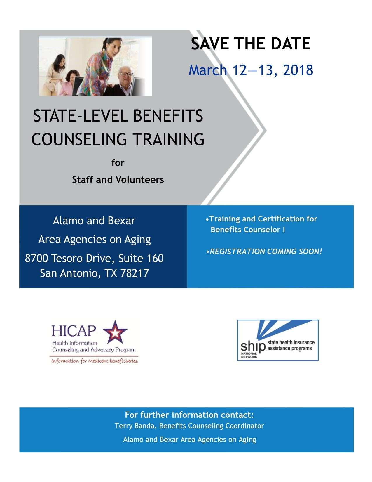 State-Level BC I Training March 12 & 13